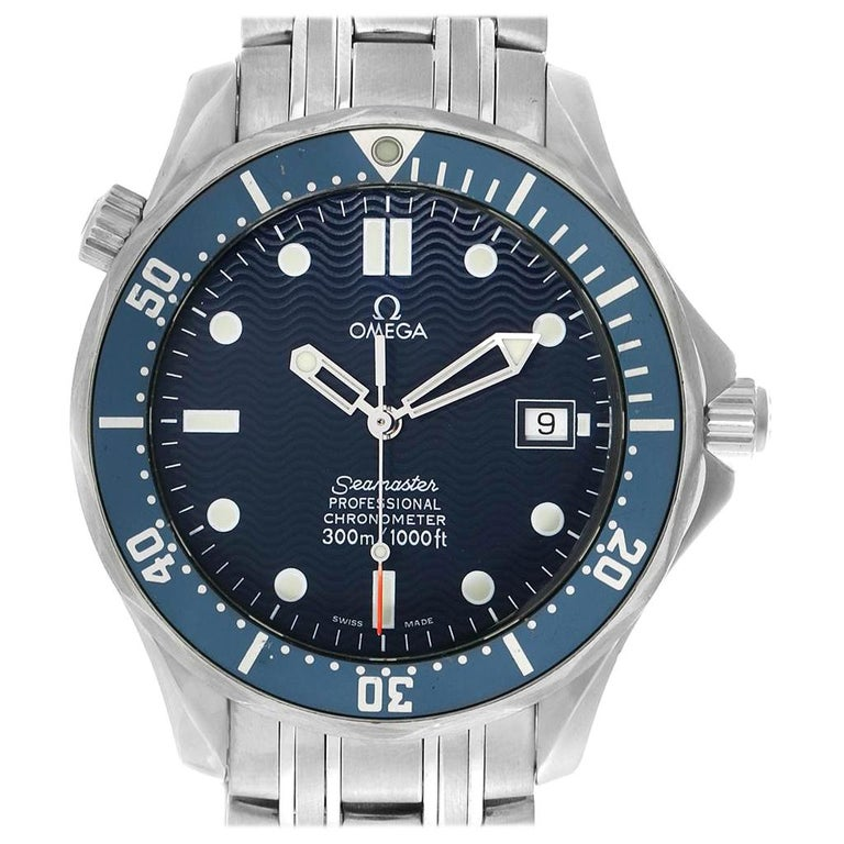 Omega Seamaster 300M Automatic Steel Men's Watch 2531.80.00 For Sale