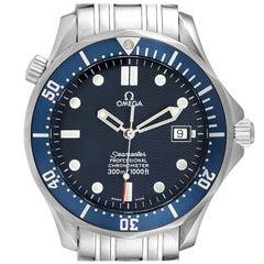 Omega Seamaster 300M Blue Dial Steel Mens Watch 2531.80.00 Box Card