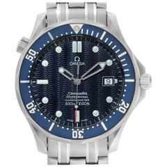 Omega Seamaster 300M Blue Dial Steel Men's Watch 2531.80.00 Card