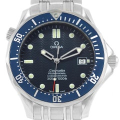 Omega Seamaster 300M Blue Dial Steel Men's Watch 2531.80.00 Card