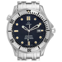 Omega Seamaster Blue Wave Dial Mens Watch 2542.80.00