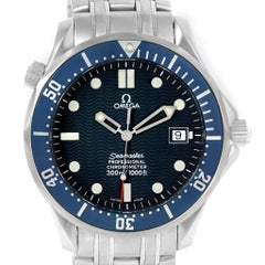 Omega Seamaster 300M Blue Wave Dial Automatic Men's Watch 2531.80.00