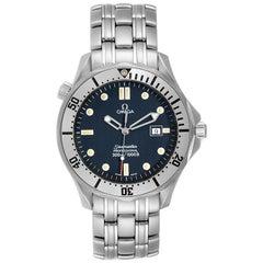 Omega Seamaster 300m Blue Wave Dial Men's Watch 2542.80.00