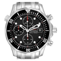 Omega Seamaster 300M Chronograph Black Dial Watch 213.30.42.40.01.001