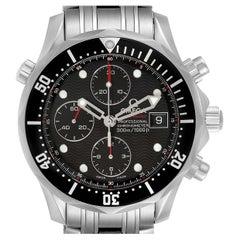 Omega Seamaster Chronograph Black Dial Watch 213.30.42.40.01.001