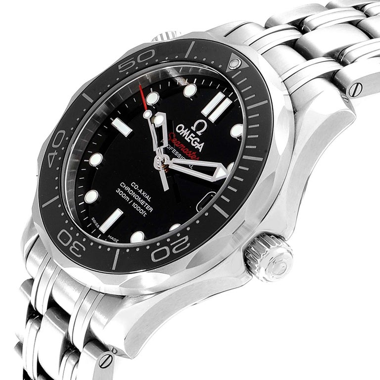 Omega Seamaster 300M Midsize Watch 212.30.36.20.01.002 Box Card 1