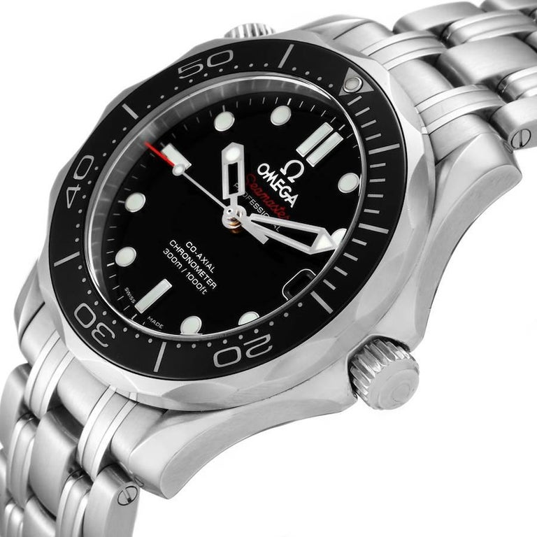 Omega Seamaster 300M Midsize Watch 212.30.36.20.01.002 Box Card 1