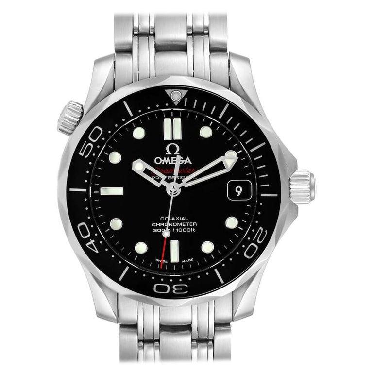 Omega Seamaster 300M Midsize Watch 212.30.36.20.01.002 Box Card