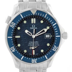 Omega Seamaster 40 Years James Bond Limited Edition Watch 2537.80.00