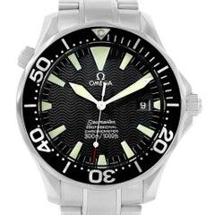 Omega Seamaster 41 300M Black Dial Men's Watch 2254.50.00 Card