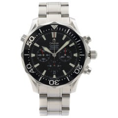 Omega Seamaster America's Cup Steel Black Dial Automatic Men's Watch 2594.50.00