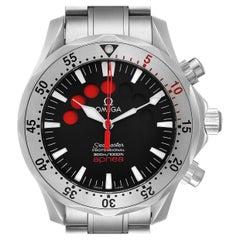 Omega Seamaster Apnea Jacques Mayol Black Dial Men's Watch 2595.50.00