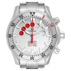 Omega Seamaster Apnea Jacques Mayol Silver Dial Men's Watch 2595.30.00