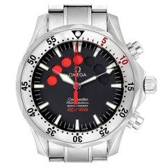 Omega Seamaster Apnea Jacques Mayol Watch 2595.50.00 Card