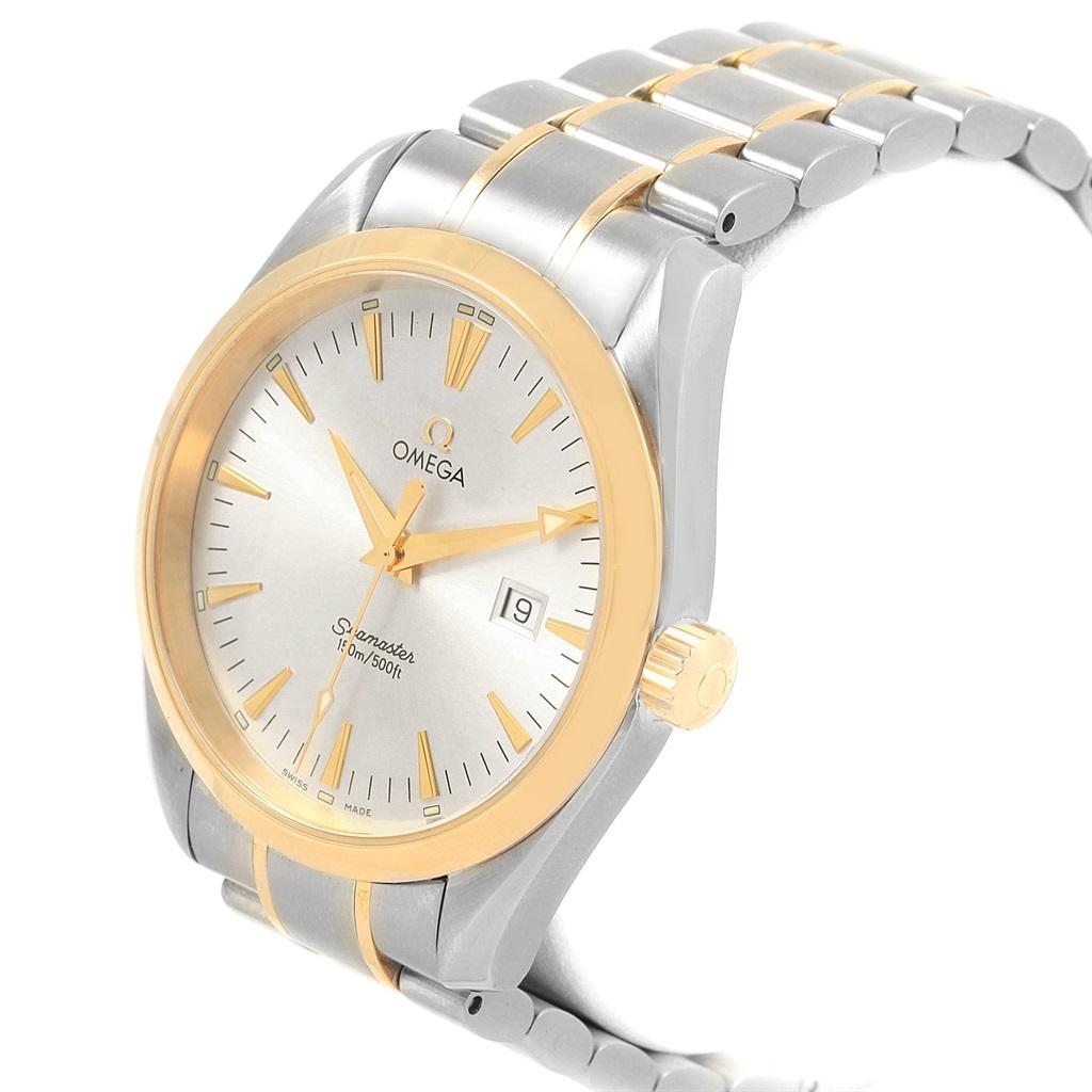1ecfc9f57ba1 Omega Seamaster Aqua Terra 150M Steel Yellow Gold Watch 2317.30.00 For Sale  at 1stdibs