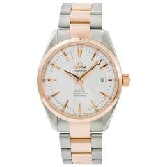 Omega Seamaster Aqua Terra 1681111 Men's Automatic Watch 18 Karat Rose Two-Tone