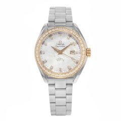 Omega Seamaster Aqua Terra 231.25.34.20.55.003 Diamonds and Steel Women's Watch