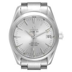Omega Seamaster Aqua Terra 36 Silver Dial Steel Watch 2504.30.00 Box Card