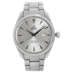 Omega Seamaster Aqua Terra Steel Silver Dial Men Automatic Watch 2502.30.00