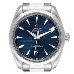 Omega Seamaster Aqua Terra Blue Dial Mens Watch 220.10.38.20.03.001 Card