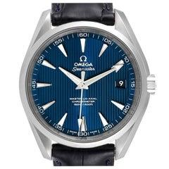 Omega Seamaster Aqua Terra Blue Dial Mens Watch 231.13.42.21.03.001 Box Card