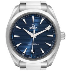Omega Seamaster Aqua Terra Blue Dial Watch 220.10.41.21.03.001 Box Card