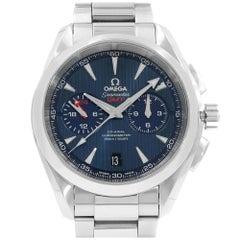 Omega Seamaster Aqua Terra GMT Blue Dial Steel Men's 231.10.43.52.03.001 New B/P