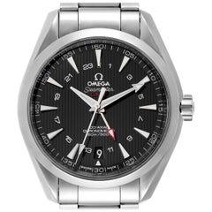 Omega Seamaster Aqua Terra GMT Co-Axial Watch 231.10.43.22.01.001 Box Card
