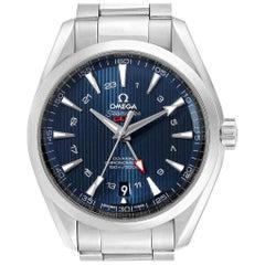 Omega Seamaster Aqua Terra GMT Co-Axial Watch 231.10.43.22.03.001