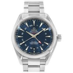 Omega Seamaster Aqua Terra GMT Steel Automatic Men's 231.10.43.22.03.001 New B/P