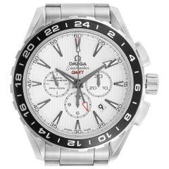Omega Seamaster Aqua Terra GMT Watch 231.10.44.52.04.001 Box Card