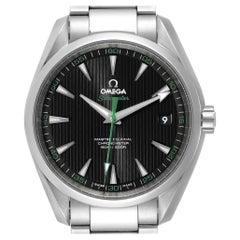 Omega Seamaster Aqua Terra Golf Edition Watch 231.10.42.21.01.004 Box Card