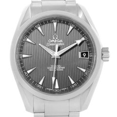 Omega Seamaster Aqua Terra Grey Teak Dial Watch 231.10.39.21.06.001