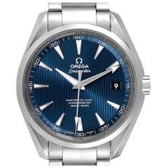 Omega Seamaster Aqua Terra Mens Steel Watch 231.10.42.21.03.001 Box Card