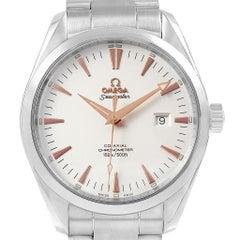 Omega Seamaster Aqua Terra Men's Steel Watch 2502.34.00 Box Papers