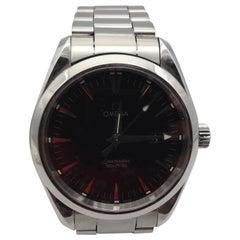 Omega Seamaster Aqua Terra Ref 25175000 Quartz Men's Watch Steel