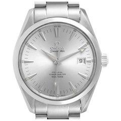 Omega Seamaster Aqua Terra Silver Dial Steel Mens Watch 2503.30.00 Card