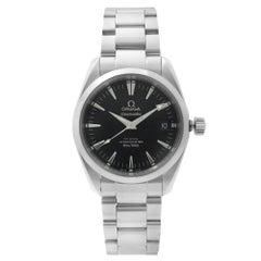 Omega Seamaster Aqua Terra Steel Black Dial Automatic Mens Watch 2504.50.00
