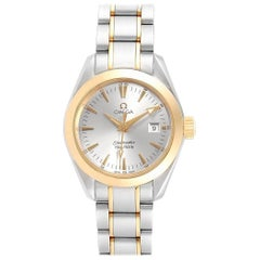 Omega Seamaster Aqua Terra Steel Yellow Gold Ladies Watch 2377.30.00