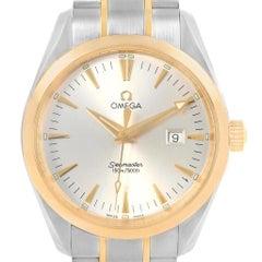 Omega Seamaster Aqua Terra Steel Yellow Gold Watch 2317.30.00 Box Card