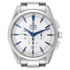 Omega Seamaster Aqua Terra XL Chronograph Watch 2512.30.00 Card
