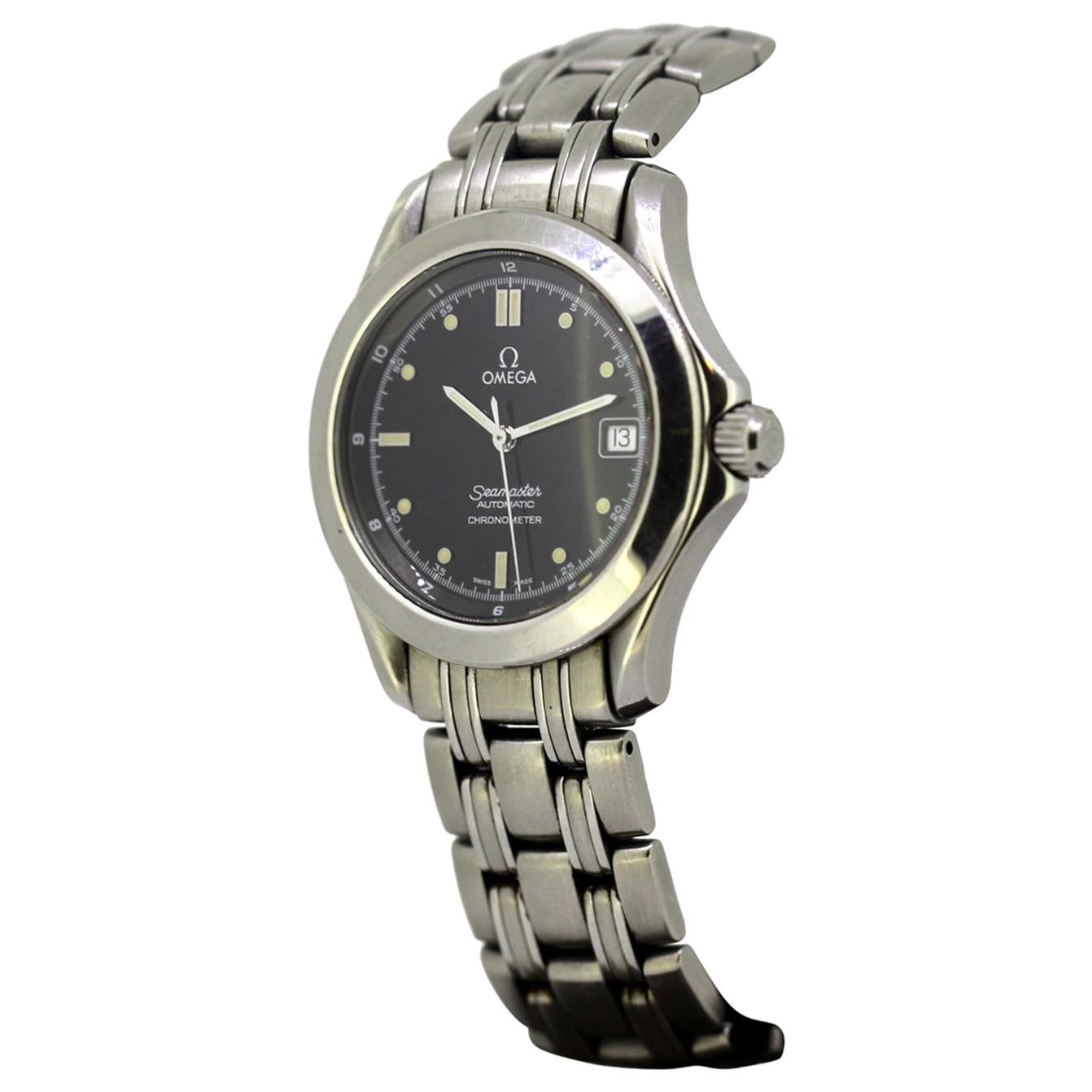 Omega Seamaster, Automatic Chronometer Men's Wristwatch, circa 1990s