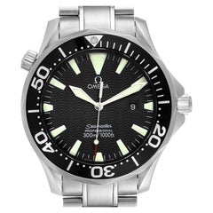 Omega Seamaster Black Dial Stainless Steel Men's Watch 2264.50.00