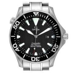 Omega Seamaster Black Dial Stainless Steel Men's Watch 2264.50.00