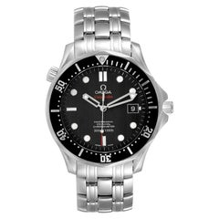 Omega Seamaster Black Dial Steel Mens Watch 212.30.41.20.01.002 Card