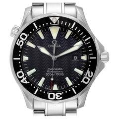 Omega Seamaster Black Dial Steel Men's Watch 2264.50.00 Card