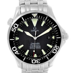 Omega Seamaster Black Wave Dial Automatic Men's Watch 2254.50.00
