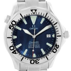 Omega Seamaster Blue Dial Automatic Steel Men's Watch 2255.80.00