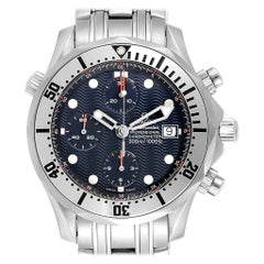 Omega Seamaster Blue Dial Chronograph Men's Watch 2598.80.00