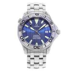 Omega Seamaster Blue Dial Steel Automatic Men's Luminescent Watch 2255.80.00